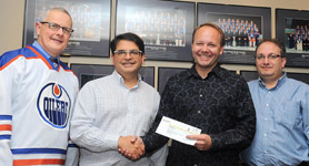 U of A Donation to University to Ophthalmology & Visual Sciences